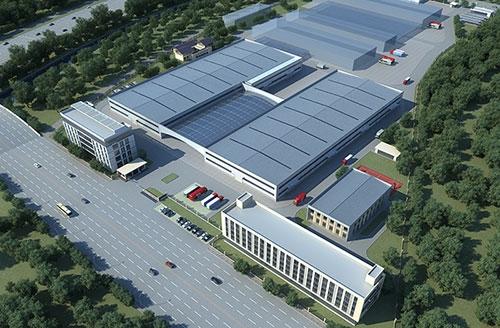 红日子新厂区鸟瞰图