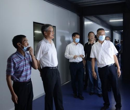湖北省人大常委会党组副书记、副主任王建鸣视察公司