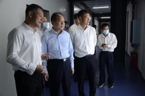 湖北省副省长万勇一行 莅临红日子公司视察指导工作
