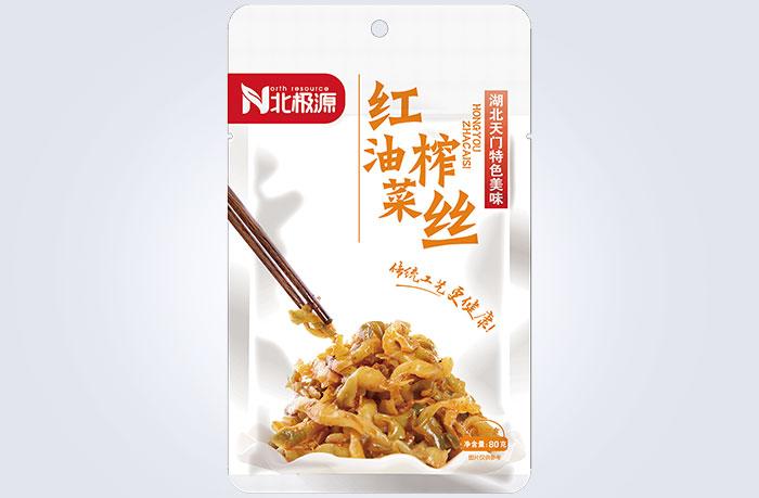 红油榨菜丝(80g)