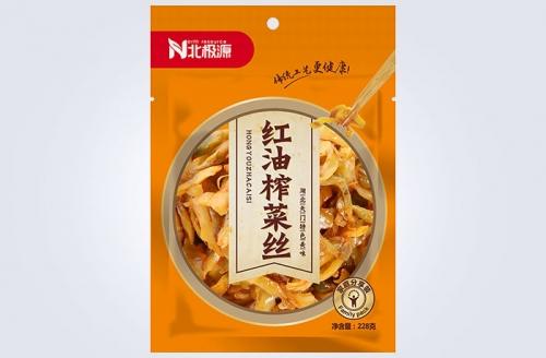 红油榨菜丝(228g)